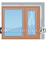 Цены на типовые размеры окон из массива дуба