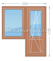 Деревянные окна на заказ недорого