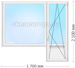 Цена на балконные двери Novotex