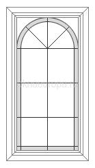 Витраж для окна дома