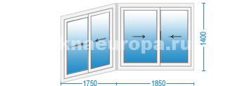 Застеклить балкон, цены на алюминиевое остекление