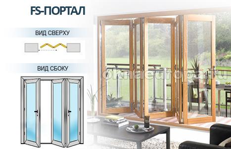 все виды дверей гармошка деревянные стеклянные пвх