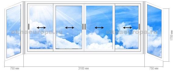 Окна для домов серии ii-49.