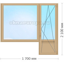 Цена на цветные окна